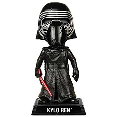 Funko Wacky Wobbler Star Wars: Episode 7 - Kylo Ren with Helmet Action Figure: Funko Wacky Wobbler:: Toys & Games