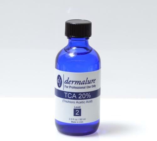 Trichloroacetic Acid - TCA Peel 20% Medical Grade 1oz. 30ml (Level 2 pH 1.3)