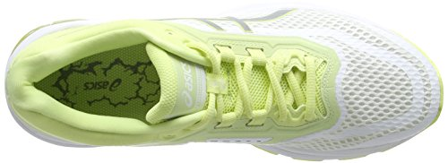 2000 Lite Running 0193 Zapatillas Para Asics white 6 show Gt silver limelight De Blanco Mujer 5qn4npgBH