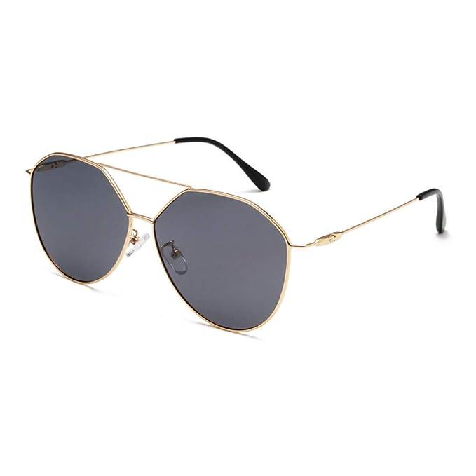 YHMC Gafas De Sol Polarizadas Metal Retro Gafas De Sol ...