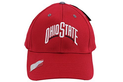 Captivating Headgear Mens Champ Fashion Ohio State Buckeyes Embroidered Cap Red