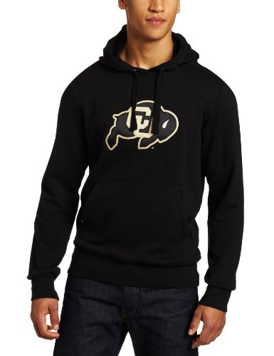 - NCAA Men's Colorado Buffaloes Applique Signature Hoodie (Black, Medium)