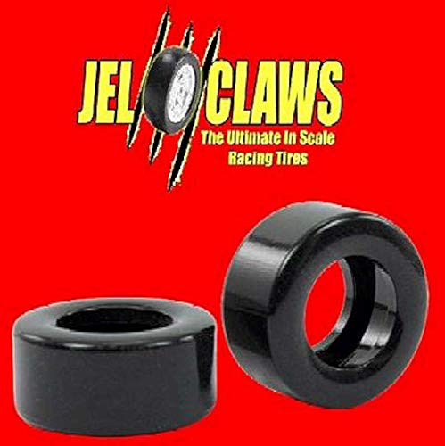 (INNOVATIVE HOBBY SUPPLY 1/32 Jel Claws Rubber Racing Tires for SCX Nascar (2)(Front/Rear) -- Slot Car Part -- 1/32 -- #1300)