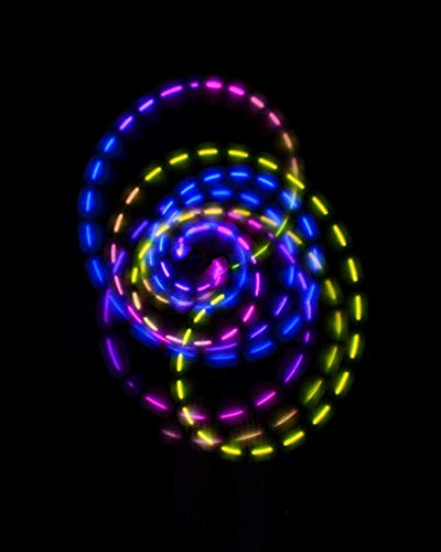 EmazingLights ePoi Lite LED Poi Balls - A Brighter Way to Spin Poi by EmazingLights (Image #7)