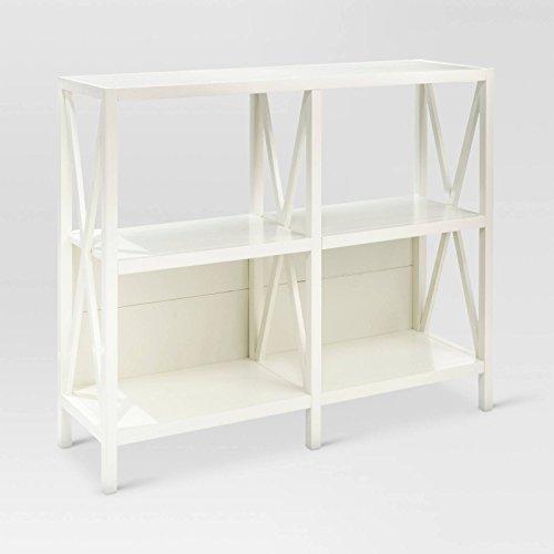 Hamilton 4 Shelf Bookcase - White