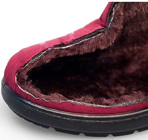 Scarpe Scarpe Cotone In Red Da Neve Donna Donna Stivali Antiscivolo Da MYXUA Impermeabili CpYHxfz