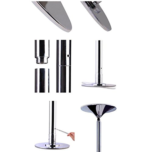 AMPERSAND SHOPS Removable / Portable Dance Fitness Exercise Pole Static / Spinning Option by AMPERSAND SHOPS (Image #4)