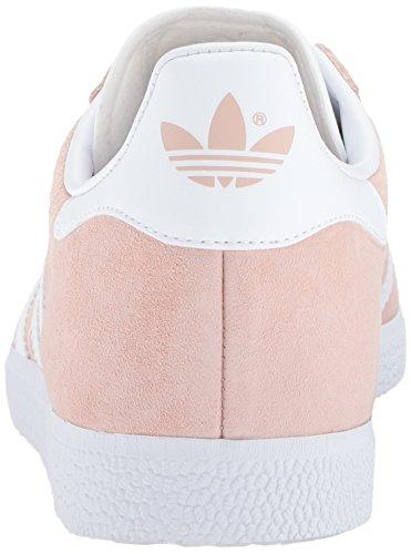 Adidas Originals Herren Gazelle Schnür-Sneaker Dampf Rosa / Weiß / Metallic Gold