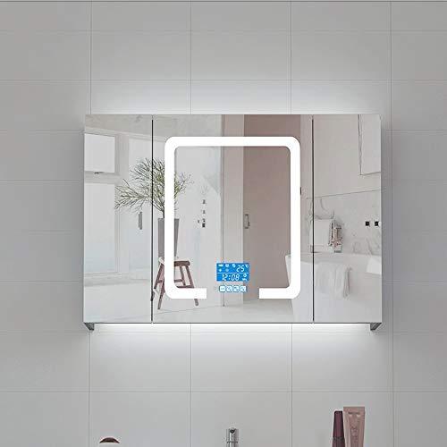 Bathroom vanity cabinet Sink Storage Cabinet Bathroom Cabinet/LED Illuminated Bathroom Mirrors Wall -