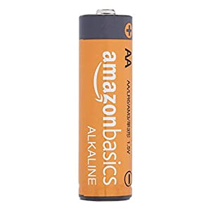 AmazonBasics AA Performance Alkaline Non-Rechargeable Batteries (8-Pack) – Appearance May Vary