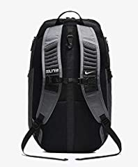 The Nike Hoops Elite Pro Basketball Backpack features multiple small-item pockets and a separate, ventilated compartment for your shoes. Its shoulder straps feature Pro Adapt technology for comfortable carrying to and from the gym. Benefits L...