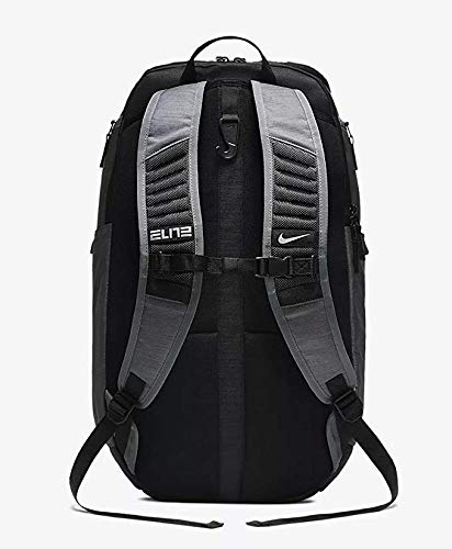 Nike Hoops Elite Pro Backpack DARK GREY/BLACK/MTLC COOL GREY