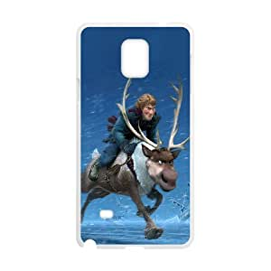 Good Quality Phone Case With HD Frozen Images On The Back , Perfectly Fit To Samsung Galaxy Note 4
