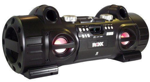 Ghettoblaster mit CD-Player, MP3, USB, SD, Bluetooth, NFC, AUX-IN ROXX BB701