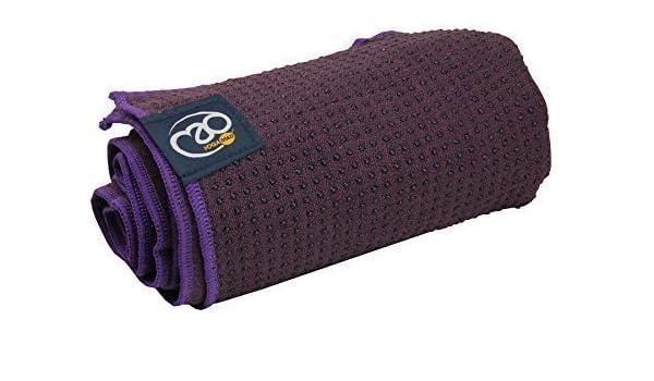 Yoga-Mad Grip Dot 2014 toalla (morado): Amazon.es: Deportes ...