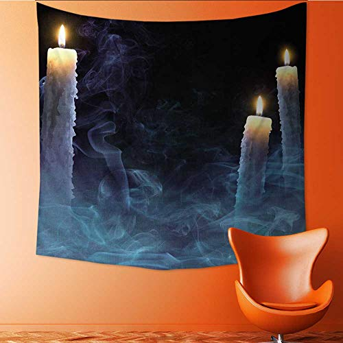 UHOO2018 Wall Hanging Tapestries Mystical with Candles for