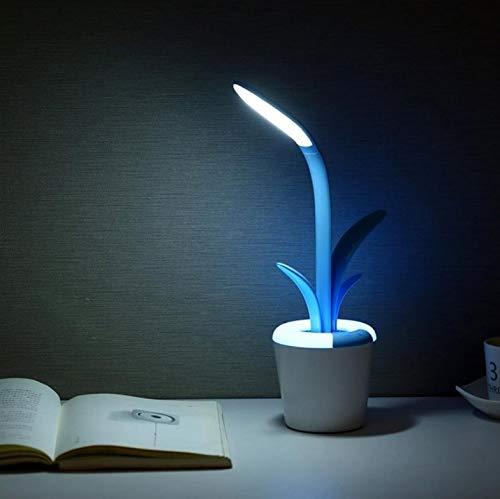 C Led Reading Light Table Lamp Eye Care Desk Lamp Three Brightness Level Flexible Arm Light For Studying Working Bedroom Lamp C