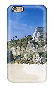 Amberlyn Bradshaw Farley's Shop Hot Tpu Case Cover For Iphone 6 Strong Protect Case - Mayan Ruins Tulum Mexico Design 7535922K84598700