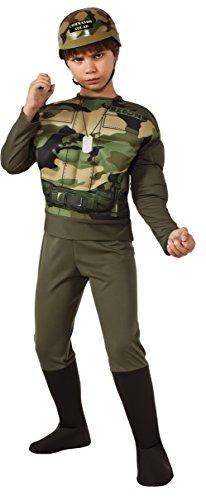 [Rubie's Recon Costume, Medium] (Zombie Soldier Costumes)