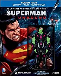 Superman: Unbound Limited Edition Combo Pack with Exclusive Figure ...