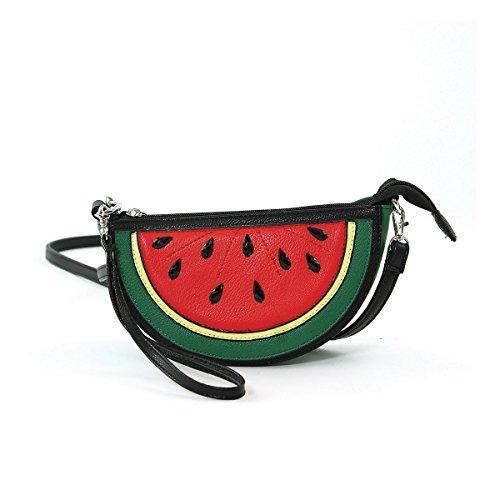 Sleepyville Critters Watermelon Slice Crossbody Bag Purse