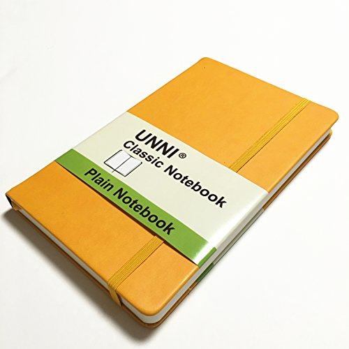 unni-notebook-journal-size825-x-114-a4-plain-yellow-192-pages-hard-cover-fine-pu-leather-writing-not