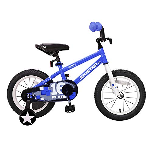 JOYSTAR Kids Bike for 4 5 6 Years Boys, 16 Inch Child Bicycle with Training Wheels, Children Cycle with Full Chain Guard & DIY Sticker ()