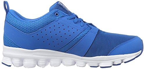 Reebok Hexaffect Sport, Zapatillas de Running para Hombre Azul (Instinct Blue / Collegiate Navy / White)
