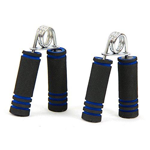 Hand Grip Resistance Strengthener Exerciser With Foam Handle BLUE