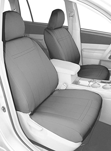 caltrend-front-bucket-custom-fit-seat-cover-for-select-toyota-avalon-models-neoprene-light-grey