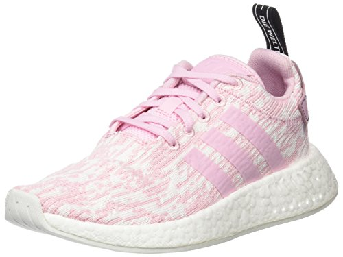 Adidas Damen Nmd_r2 W Low-top, Weiß Pink (wonder Pink / Wonder Pink / Core Black)