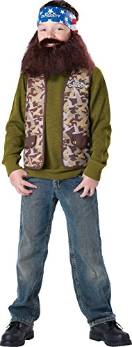 Boys Duck Dynasty Willie Kids Costume Medium 8 Boys Costume for $<!--$14.91-->