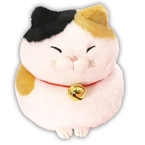 - Hige Manjyu Plush Cat Doll Mi-sama