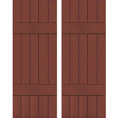 Ekena Millwork RWB18X061RWW Exterior Five Board