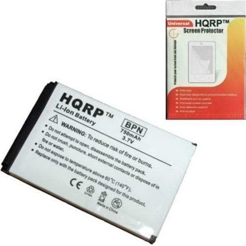 ent Battery for Creative Zen Micro DAA-BA0005 MP3 Player, Li-Ion, Extra High Capacity ! + HQRP Screen Protector ()