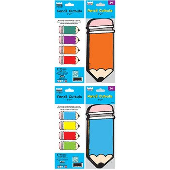 Flomo 1946530 2 Pencil Cut Outs - Case of 48 by FLOMO