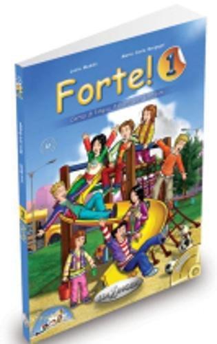 Forte!: Libro dello studente ed esercizi 1 + CD audio + CD-ROM (Level A1)