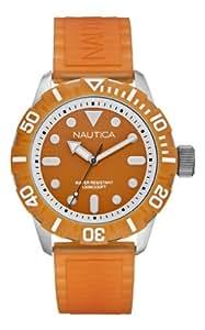 Nautica A09604G Mens NSR 100 Orange Watch