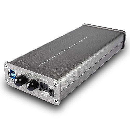 DEAFidelity Elfidelity DSD DAC integrate Audio Headphone Amplifier, Desktop USB Digital Analog Convertor, External PC Soundcard, Support DSD 256 direct decoding by DEAFidelity (Image #1)