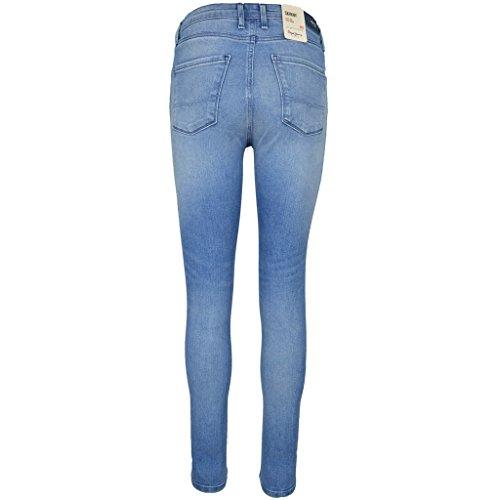 Pepe Jeans London Damen Jeanshose Jeans High Waist REGENT PL200398 Skinny Blue Denim L30 L32 fDio4S