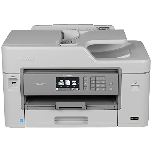 Brother MFC-J5830DW All-in-One Color Inkjet Printer, Wireless Connectivity, Automatic Duplex Printing, Amazon Dash Replenishment Enabled