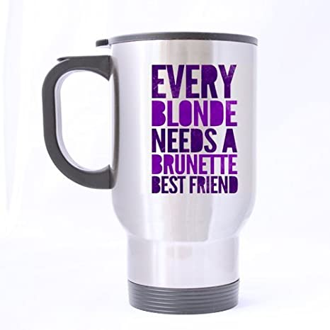 Amazoncom 14oz Funny Best Friend Quotes Mug Every Blonde Needs A