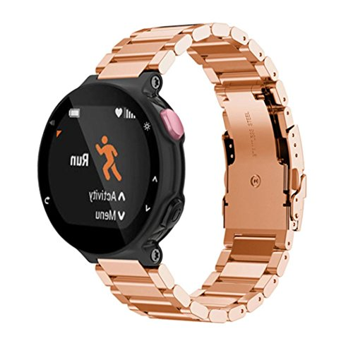 binmertm-metal-stainless-steel-watch-band-strap-for-garmin-forerunner-220-230-235-630-620-735-rose-g