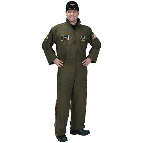 Adult Armed Forces Pilot Suit - 3