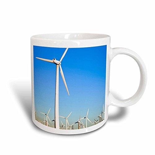 3dRose mug_88419_1 Palm Springs, Energy Wind Turbines, California US05 IST0014 Inti St. Clair Ceramic Mug, - Spring California Outlet Palm
