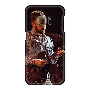 Samsung Galaxy S6 JcT390zGnY Unique Design Realistic Kings Of Leon Band Series Scratch Protection Hard Cell-phone Case -AaronBlanchette