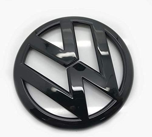 VOLKSWAGEN VW SCIROCCO MK3 GLOSS BLACK BADGE SET FRONT /& REAR 2015-2018