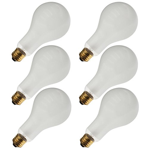 Industrial Performance 150PS25/IF 130V, 150 Watt, PS25, Medium Screw (E26) Base Light Bulb (6 Bulbs)