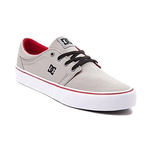 ラウンジ弁護士パブ(ディーシー) DC 靴?シューズ メンズスケートシューズ Mens DC Trase TX Skate Shoe Gray グレー US 10 (28cm)