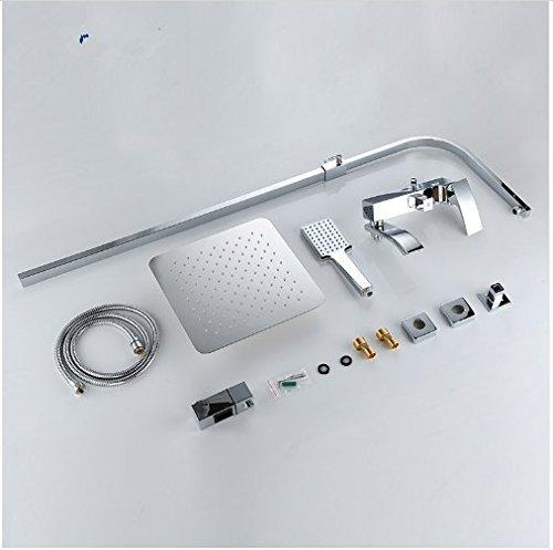 Gowe shower faucet wall mount bidet faucet Rainfall shower mixer tap muslim toilet sprayer bath shower set shower system 3
